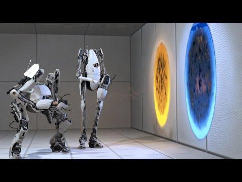 Portal 2 - Guia Curso 4, Sin Morir y Con 2 Controles!