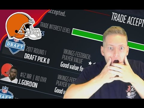 BROWNS TRADE JOSH GORDON! WHAT AN EPIC ENDING! OMG! - Madden 17 Browns Connected Franchise #7