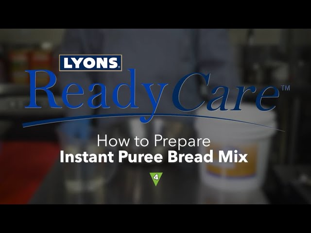 How to Prepare Instant Puree Bread Mix