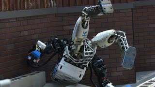 DARPA robots falling down set to Push it to the Limit