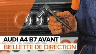 Comment remplacer Embout biellette de direction AUDI A4 Avant (8ED, B7) - tutoriel
