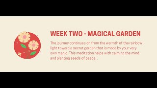 Guided Meditiations: Magical Garden