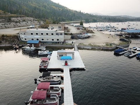 Indian Peaks Marina Drone Fly Over