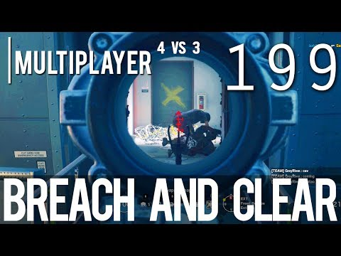 [199] Breach and Clear (Let's Play Tom Clancy's Rainbow Six: Siege PC w/ GaLm)