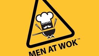 Men at Wok Takeaway, Daily Vlog January 29, 2016. NeenCrochet