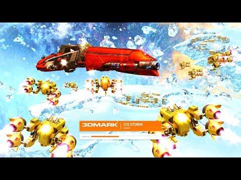[例のグラボ] Ice Storm - 3DMark - 外部録画 [RX580化後]