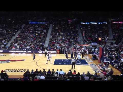 Memphis Grizzlies vs Atlanta Hawks | Last 2 Mins of 3rd | 02/06/2013 | NBA 2012/13 Season