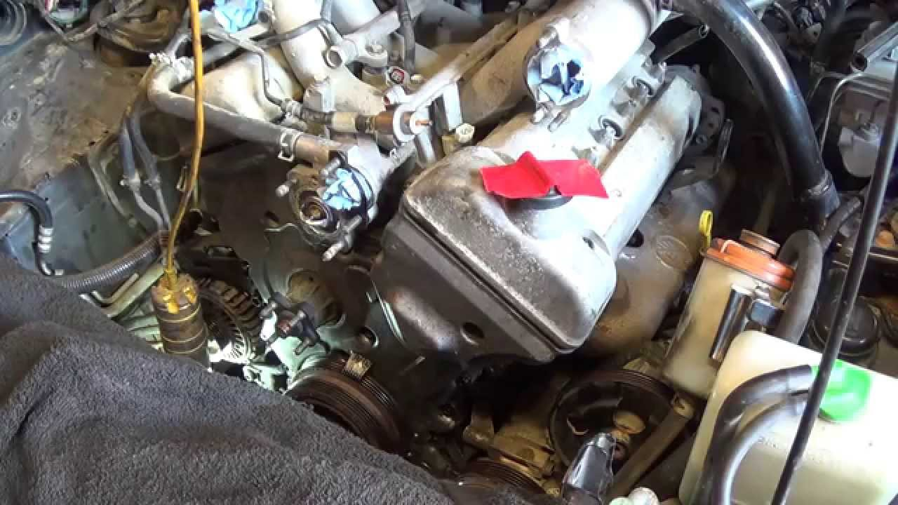 Suzuki Grand Vitara Engine Oil Leak