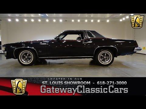 #7241 1973 Pontiac Grand Prix - Gateway Classic Cars of St. Louis
