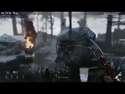 Dead by Daylight PTB RANK 1 FREDDY! - THEY SHOW HIM RESPECT?!