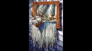 85. Море в картине - Тэла Артис. Готовая работа бисером.