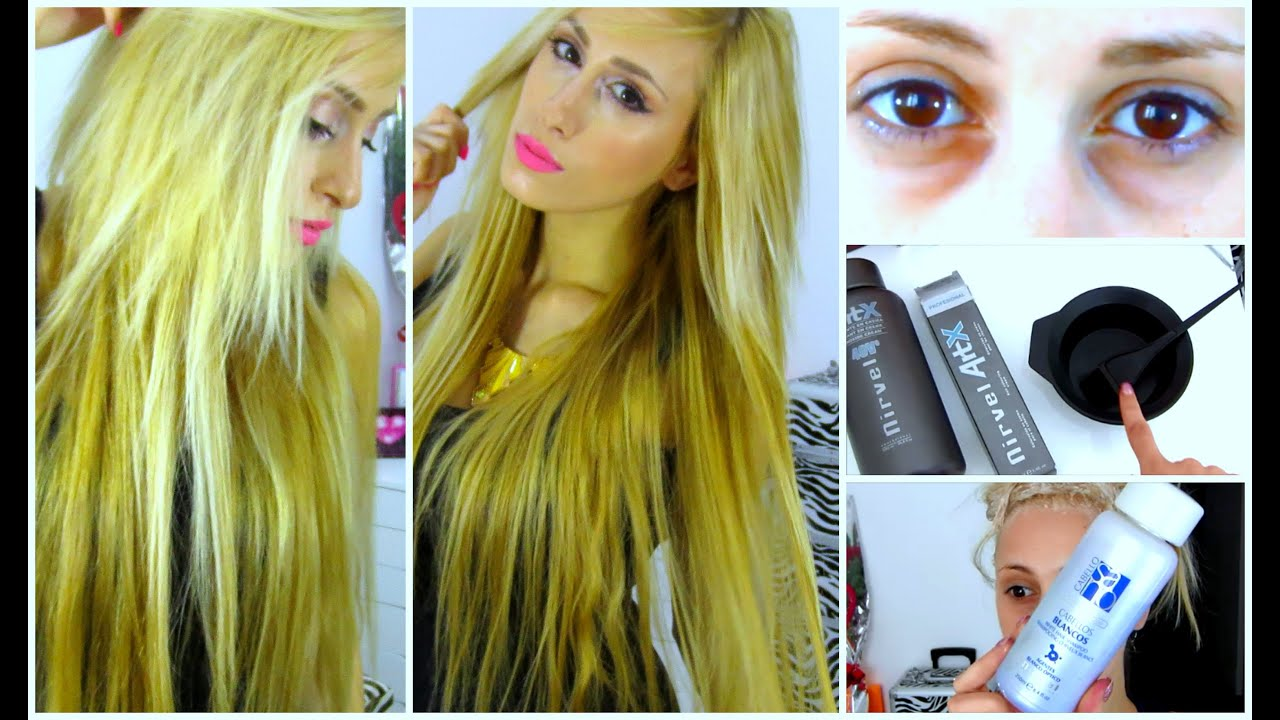 tutorial golden blonde hair colour