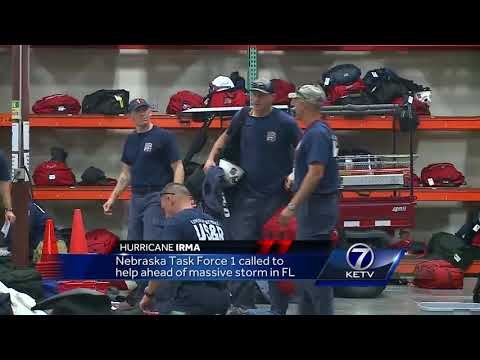 Nebraska Task Force 1 called to help ahead of Florida storm
