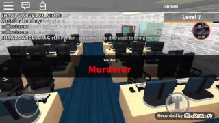 Real life murder mystery in ROBLOX