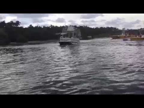 Pontoon Boat Flipping Over