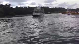 Pontoon Boat Flipping Over