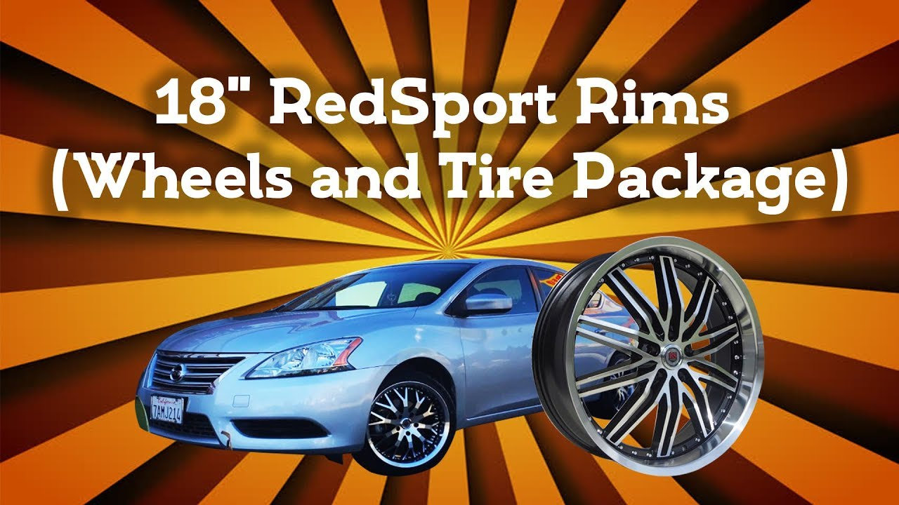 "2014 Nissan Sentra 18"" RedSport Rims (Wheels and Tire ..."