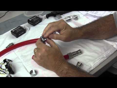 Koolance INS-FM17N Flow Meter, ADT-FM03 , Aqauero Temperature Sensor Installation