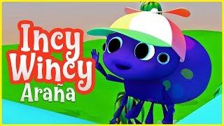 Canción Infantil Incy Wincy Araña | Vídeos infantiles en español | Rondas Infantiles