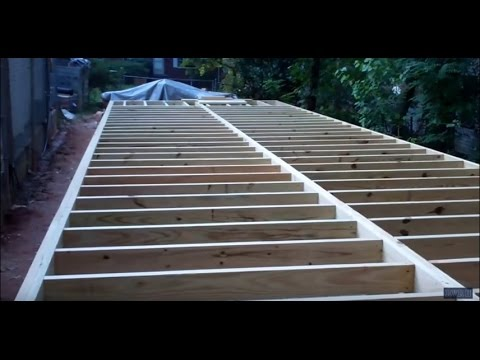 Construction Of Project Mega Shed Part 4 Building The