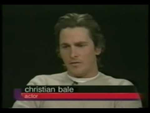 Christian Bale Talks American Psycho To Charlie Rose | Part 1/2