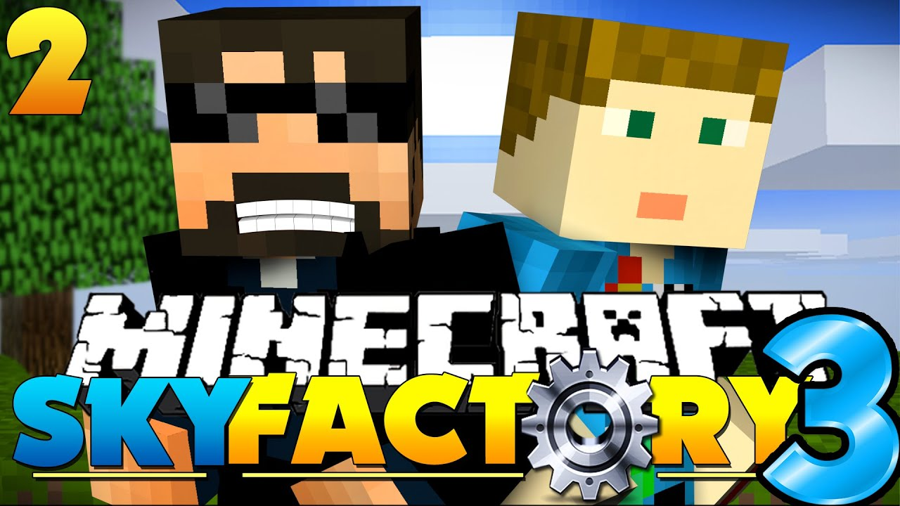 Life Spelled In Cobble : Minecraft skyfactory cobble life youtube