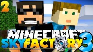 Minecraft: SkyFactory 3 -  COBBLE = LIFE [2]