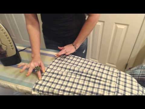 ASMR Southern Accent Soft Spoken ~~ Ironing  Men's Shirts and Pants