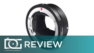 REVIEW | SIGMA MC-11 Mount Converter / Lens Adapter (Canon EF-Mount Lenses to Sony E Mount)