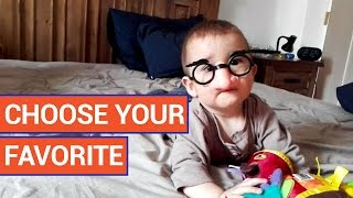 Baby in Costume vs Laughing Baby Funny Vote Video 2016