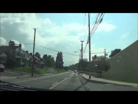 Driving around Downtown Bethlehem, PA