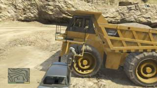 GTA 5 offline, 100% dump truck spawn location!? (Gta 5 Tutorials)