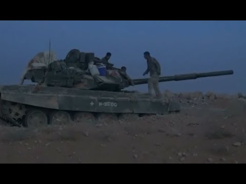 War on ISIS | Images from the Syrian desert | November 23rd - 26th 2017