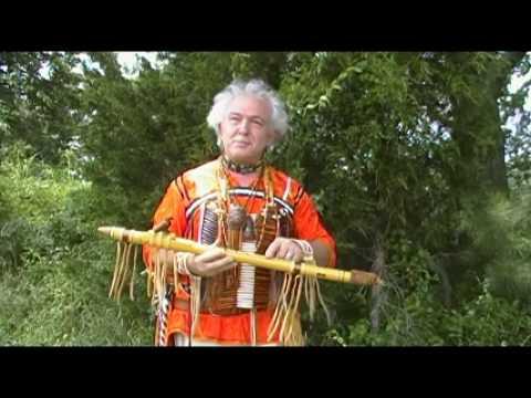 Chief Silverheels Dana Ross Eagle Flute Maker Youtube