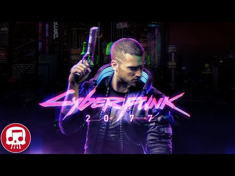 "CYBERPUNK 2077 RAP by JT Music (feat. Andrea Storm Kaden) - ""Night on Fire"""