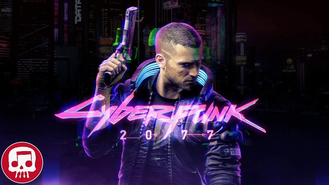 "CYBERPUNK 2077 RAP by JT Music (feat. Andrea Storm Kaden) - ""Night on Fire"" thumbnail"