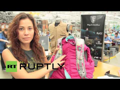 Colombia: School shootings inspire bullet-proof backpacks for kids