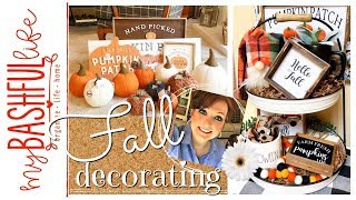 Fall Decorating 2019 & Fall Decor Haul