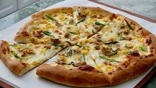 Tuna and Corn Pizza Recipe - Japanese Cooking 101