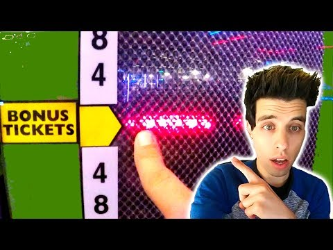 THIS JACKPOT AT DAVE AND BUSTERS WAS HUGE! ARCADE GAMES | MATT3756