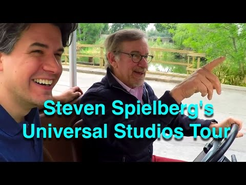 Tampa Bay - Steven Spielberg Gives A Tour of Universal Studios