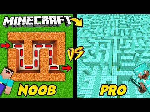 LABIRYNT NOOB VS LABIRYNT PRO W MINECRAFT! thumbnail