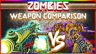 *ZWC* Wunderwaffe DG-2 vs Lightning Staff ~ CoD WaW & Black Ops 1/2 ~ Wonder Weapons ~ Ep. 39