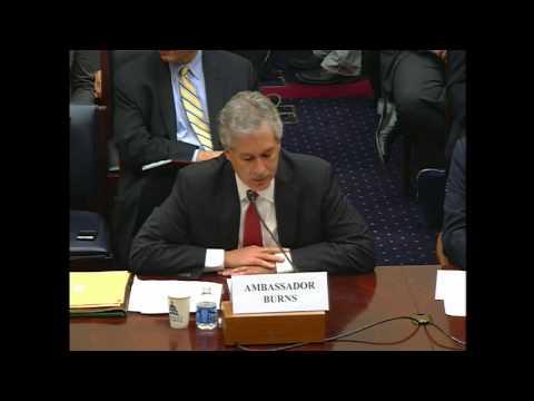 Deputy Secretary Burns and Deputy Secretary Nides Testify on Benghazi Attacks