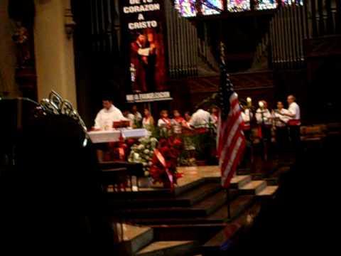 Francisco Isla's ~ Catedral de Paterson ~ video de misa