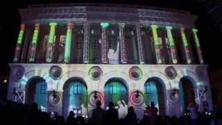 Проекционное 3D шоу Lay's в Киеве на День Независимости