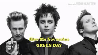 Lyrics Give Me Novacaine - Green Day (American Idiot) Lirik & Terjemahan
