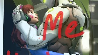 D.va X Genji - Love Me Harder ~Requested By: Brittany Espher~