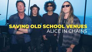 Alice In Chains Visit Their Pop-Up Museum at The Crocodile in Seattle