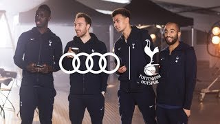 SPURS CHECK OUT THE NEW AUDI Q8